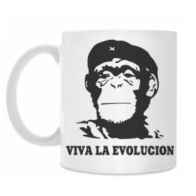 Кружка Viva la evolucion