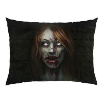 Подушка Зомби-девушка