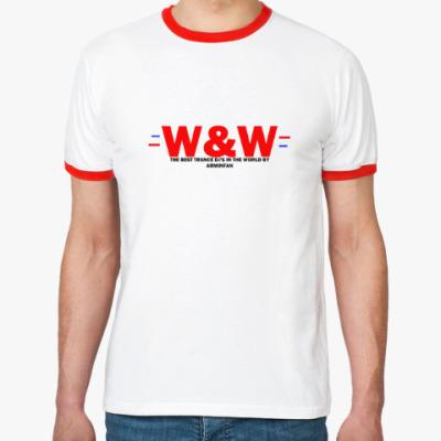Футболка Ringer-T W&W BY ARMINFAN