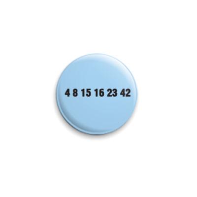 Значок 25мм  4 8 1516 23 42
