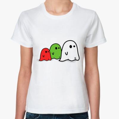 Классическая футболка Три приведения