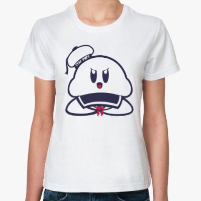 Классическая футболка Зефирный Человек