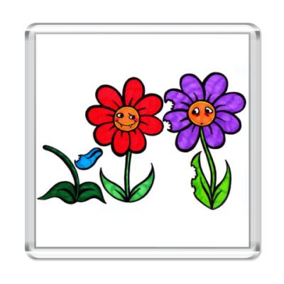 Магнит Цветы