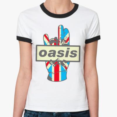 Женская футболка Ringer-T Oasis