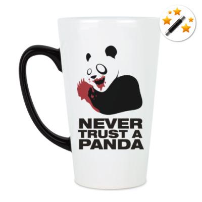 Кружка-хамелеон Никогда не верь панде