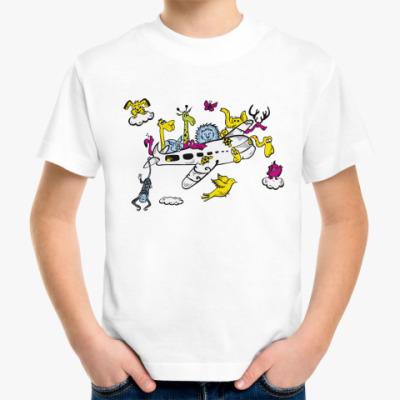 Детская футболка Самолет Детская футболка