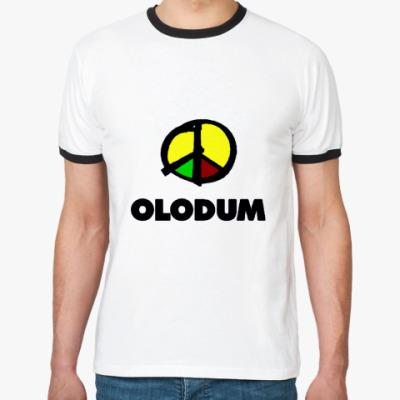 Футболка Ringer-T   olodum