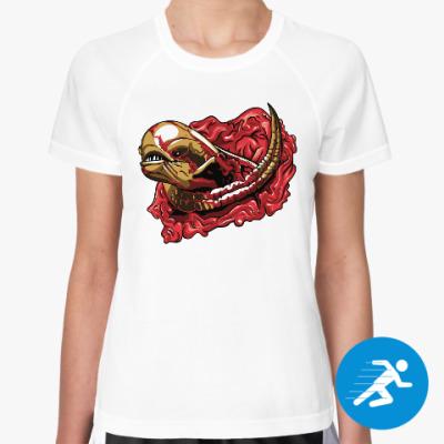Женская спортивная футболка Чужой