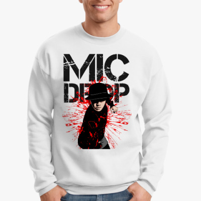 Свитшот BTS - MIC DROP