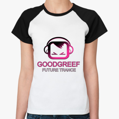 Женская футболка реглан GoodGreef