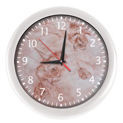 Настенные часы Цветопад