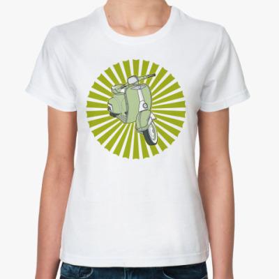 Классическая футболка Vespa
