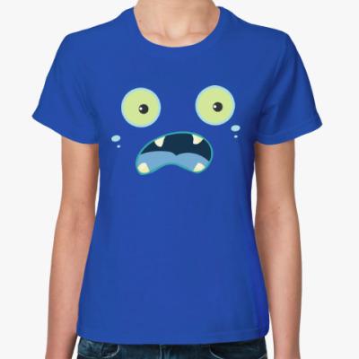 Женская футболка Монстрик