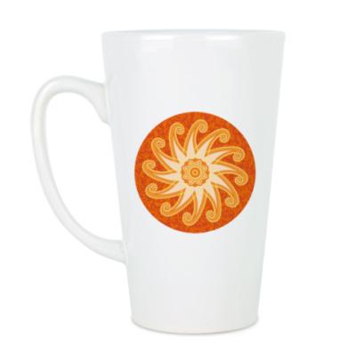 Чашка Латте Солнцеворот