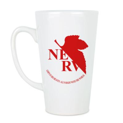 Чашка Латте Neon Genesis Evangelion NERV