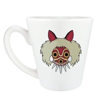 Чашка Латте Принцесса Мононоке Мияздаки