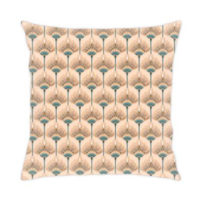 Подушка Песочные цветы