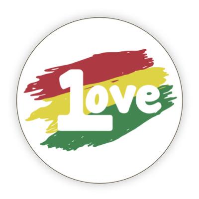 Костер (подставка под кружку) 1 Love