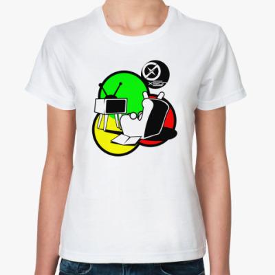 Классическая футболка  Ebunny TV