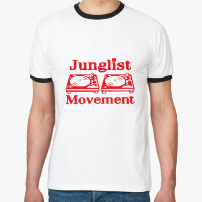 Футболка Ringer-T Junglist Movement
