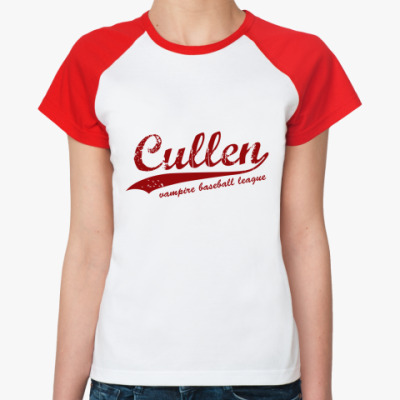 Женская футболка реглан Cullen