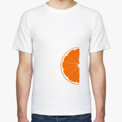 Футболка Половина апельсина