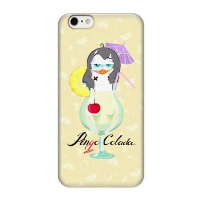 Чехол для iPhone 6/6s Коктейль ПинГо Колада