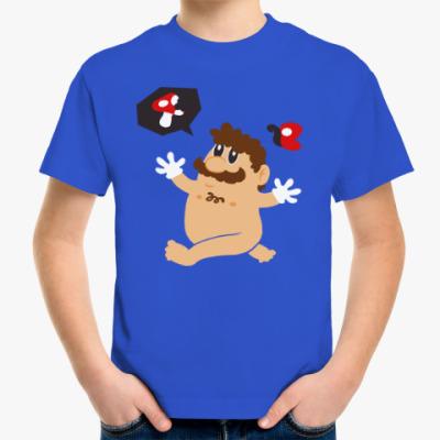 Детская футболка Супер Марио и грибы