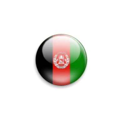 Значок 25мм Афганистан