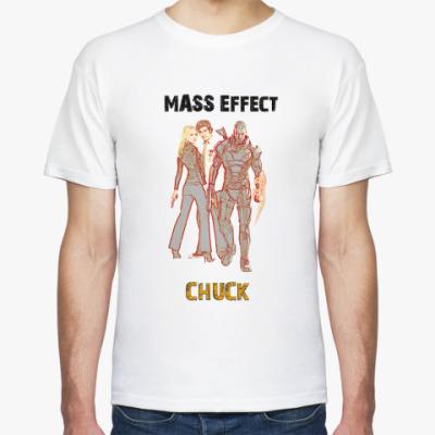 Футболка chuck-mass effect
