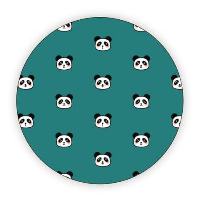 Костер (подставка под кружку) панды