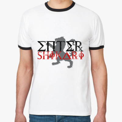 Футболка Ringer-T  Муж Enter Shikari