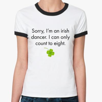 Женская футболка Ringer-T Sorry