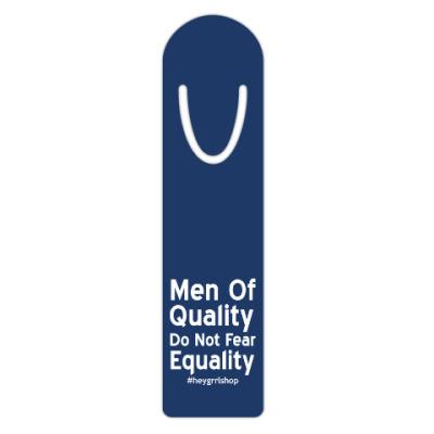Жетон dog-tag Закладка Do Not Fear Equality