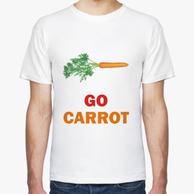 Футболка Go carrot!