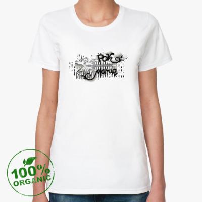Женская футболка из органик-хлопка Рок-магия