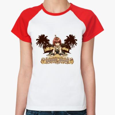 Женская футболка реглан Comodo