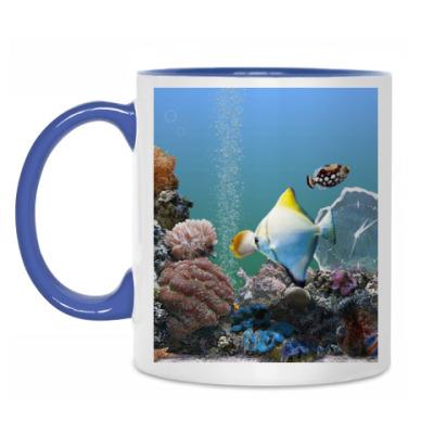 Кружка Морской аквариум