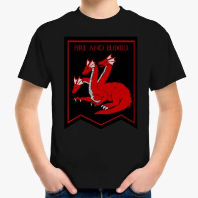 Детская футболка Дом таргариенов