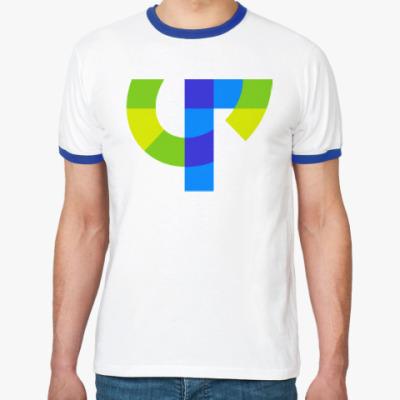 Футболка Ringer-T Футболка Ringer-T мужская (бел