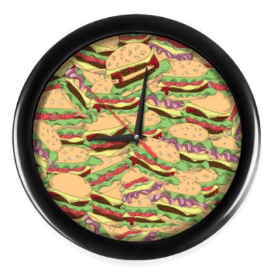 Настенные часы Бургеры