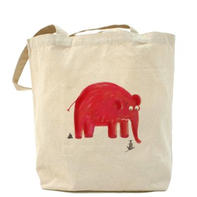 Сумка Красный слон