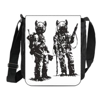 Сумка на плечо (мини-планшет) War Pigs