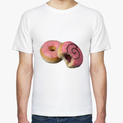Футболка Пончики