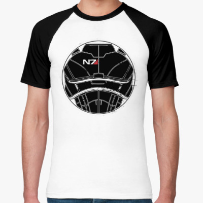 Футболка реглан N7 Mass Effect