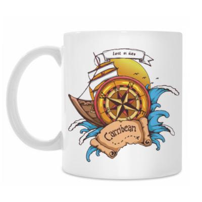 Кружка Море. Пират.