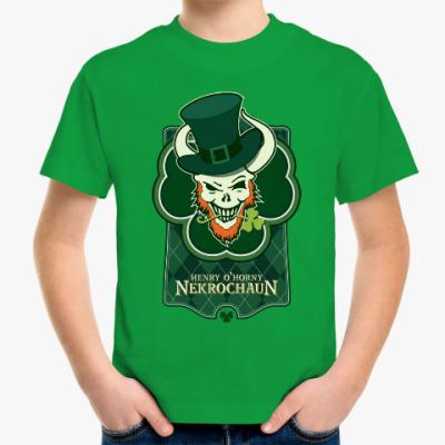 Детская футболка Детская футболка Fruit of the Loom (зеленая, dtg)