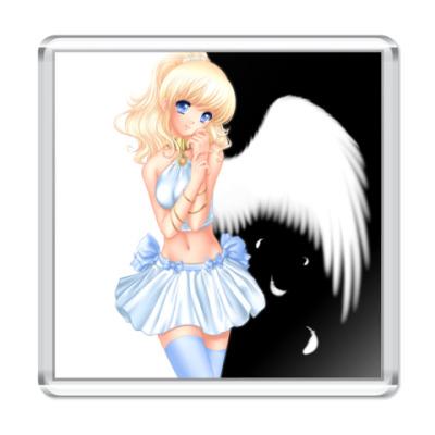 Магнит  6,5x6,5 Light Angel
