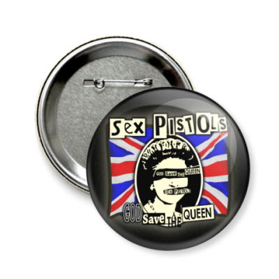Значок 58мм Sex Pistols