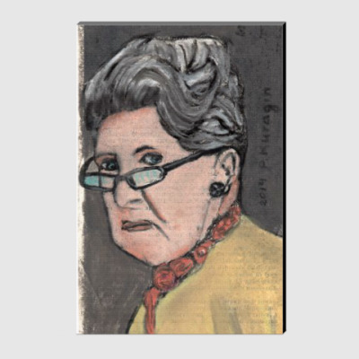 Холст Грозная бабушка